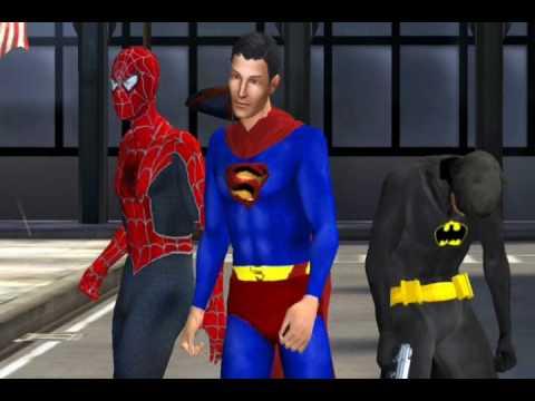 Batman Superman & Spider-Man The Movie (Trailer)