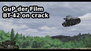 Girls und Panzer der Film - BT-42 scene on crack (1/3)