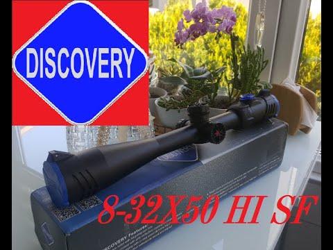 Dürbünün üzerindekiler ne işe yarar ?Discovery 8-32x50 HI SF Air Rifle Scope