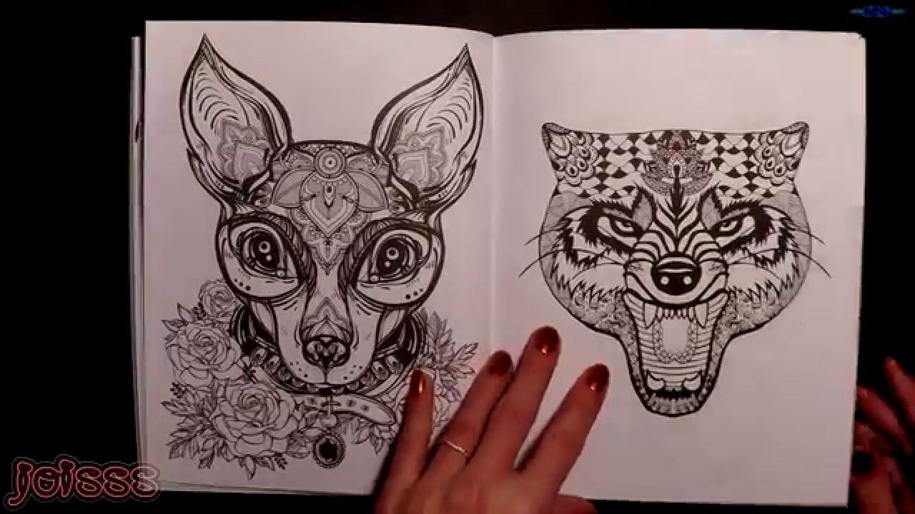 Tatuaze Antystresowa Kolorowanka Tatuaze Decomade Pl