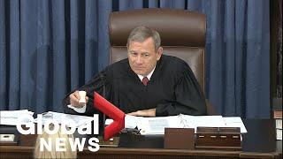 Trump impeachment trial: Day 4
