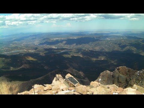 The Top of Pikes Peak in HD
