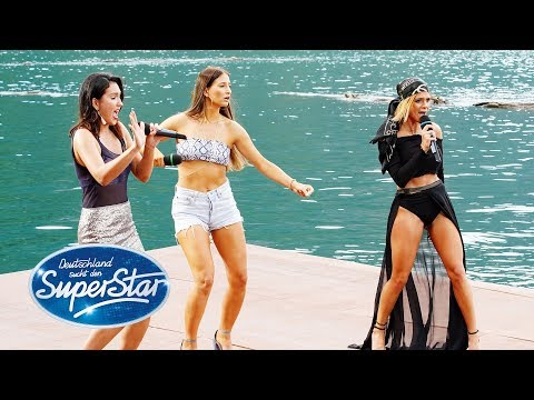 "DSDS 2019  Gruppe 07  Gianina Natali Kamilla mit ""New Rules"" von Dua Lipa"