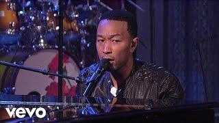 John Legend Save Room Live On Letterman