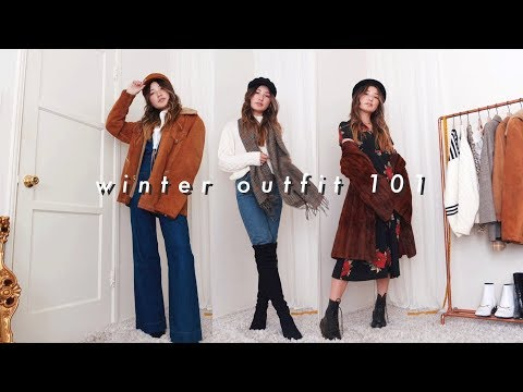 how to put together an outfit 101: winter edition. http://bit.ly/2GPkyb3