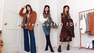 how to put together an outfit 101: winter edition