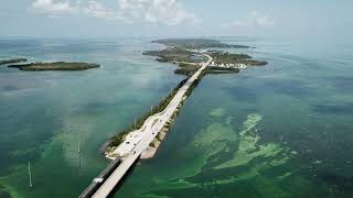 The Florida Keys in 4K: Island Drone Video