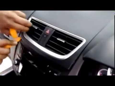 วิธีแกะหน้ากากรถยนต์ ซูซุกิสวิฟ