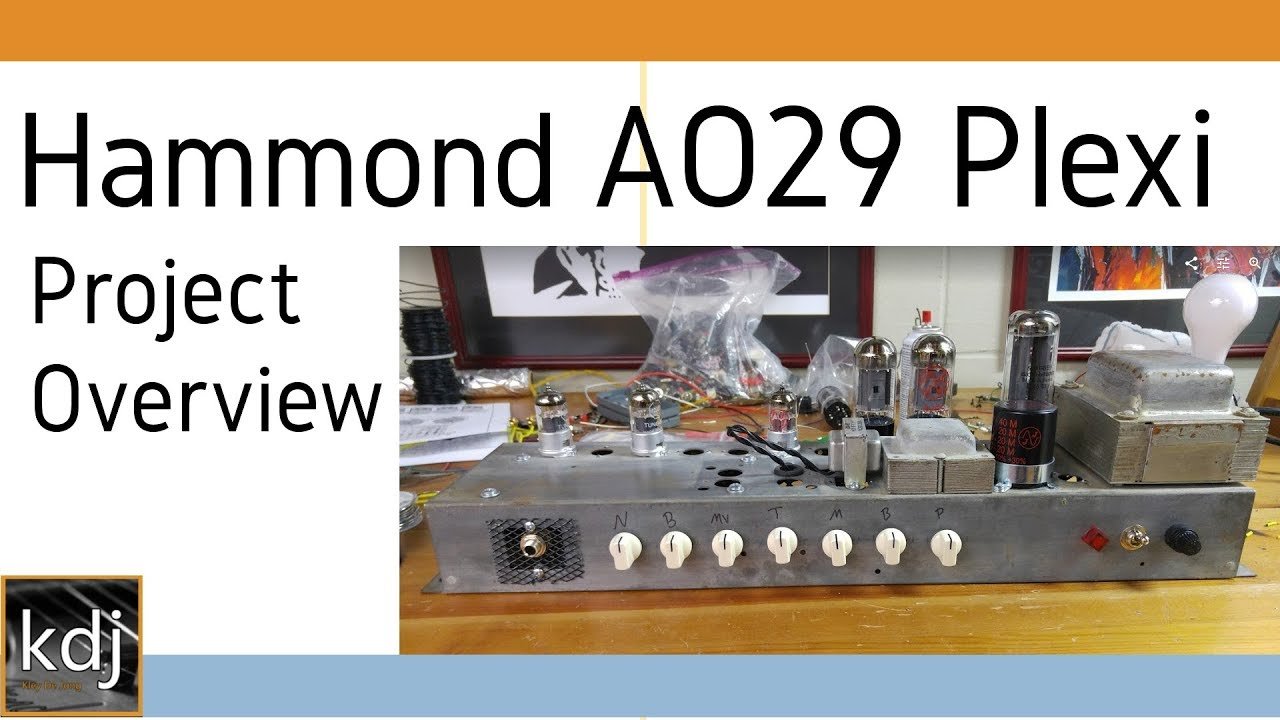 Hammond AO-29 Conversion to Marshall Plexi - Project Overview on