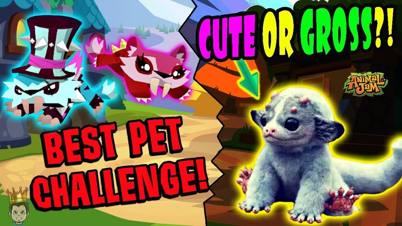 New Extinct Animal! Pet Challenge + Crazy Animal Jam - YouTube
