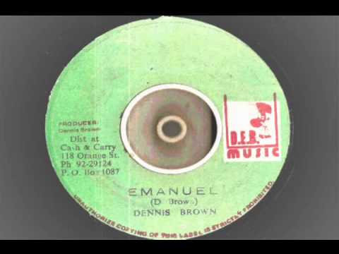 Dennis Brown - Emmanuel  Extended Mix With Dub Version  - DEB -music  Records Roots Reggae
