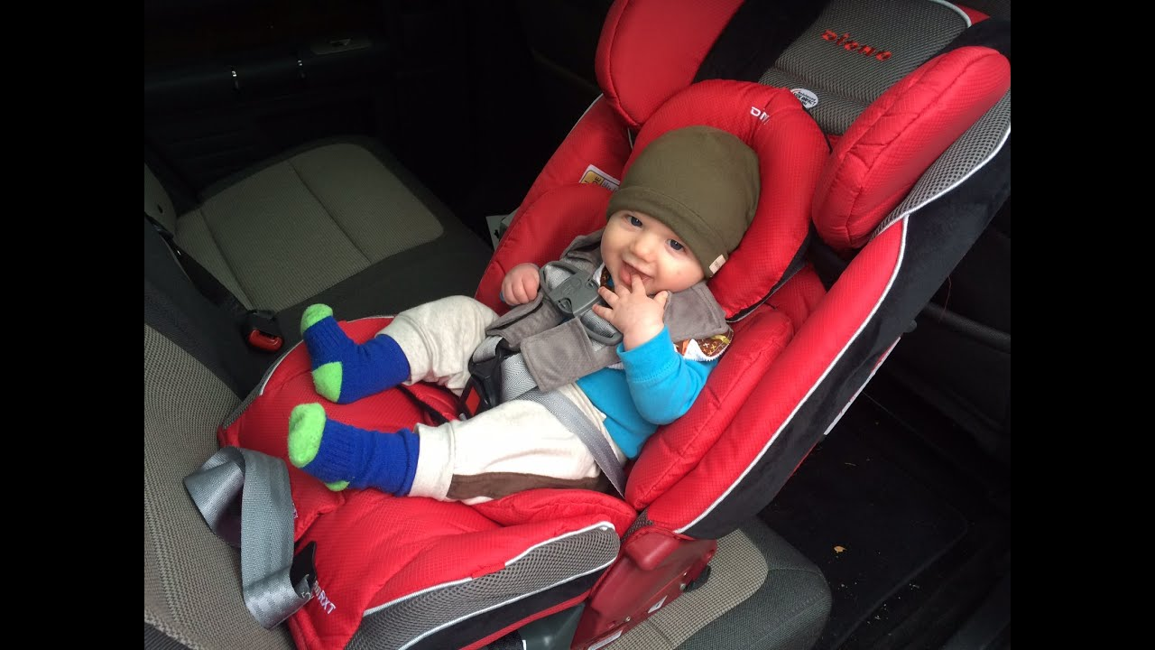 Diono Radian RXT Car Seat REVIEW - YouTube