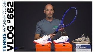 Laver Cup Wilson Racquets + New Nike Tennis Shoes -- VLOG #662