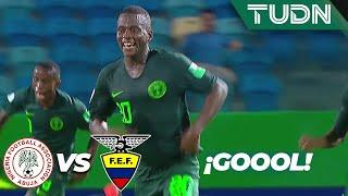 ¡Triplete de Said! Está imparable | Nigeria 3 - 2 Ecuador | Mundial Brasil Sub-17 - J2 | TUDN