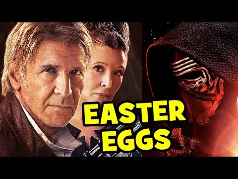 ALL Star Wars The Force Awakens Easter Eggs, References & Cameos