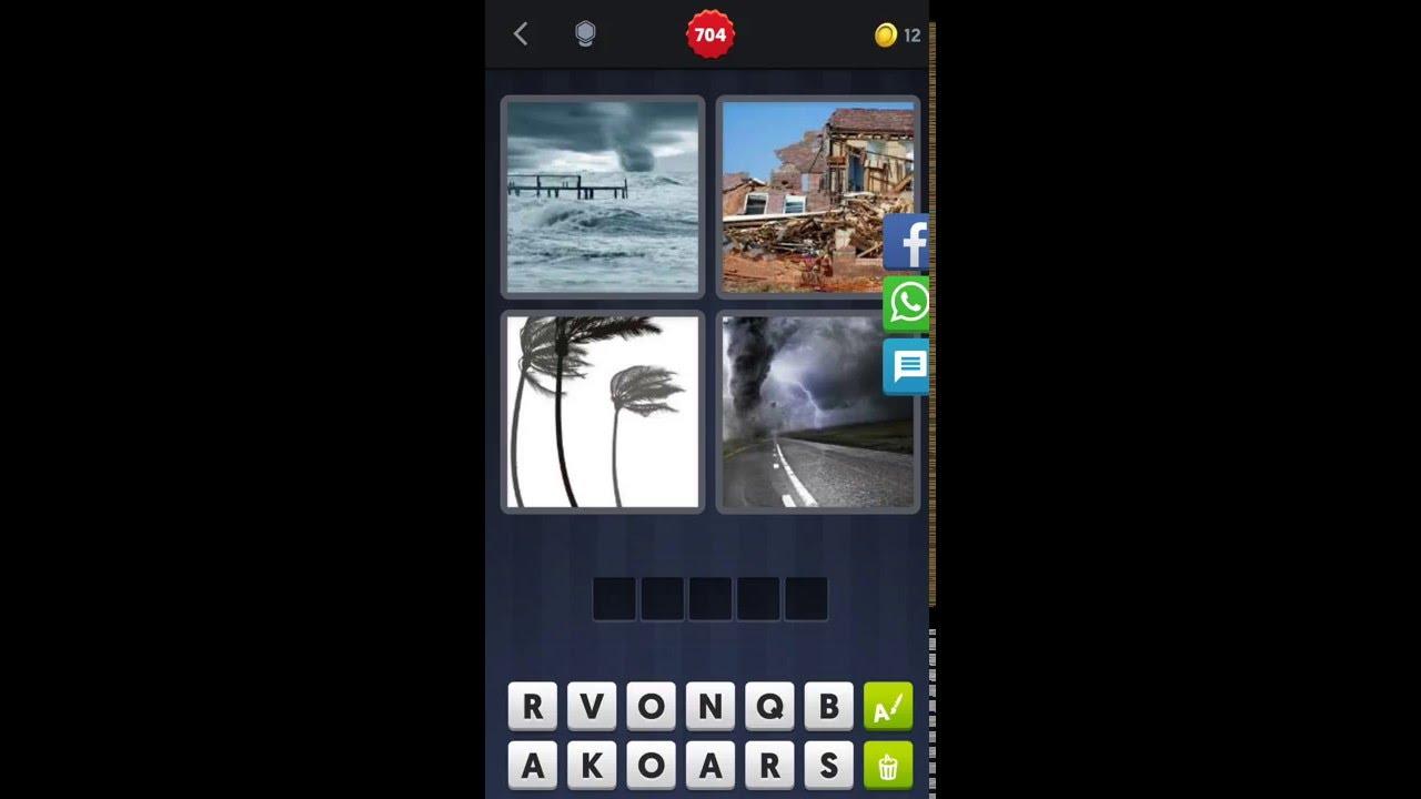 4 Bilder 1 Wort Tornado