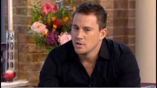 Channing promoting Magic Mike in UK (2012-07-10)