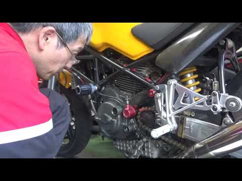 バイク屋の日常。M900の故障原因を確認しました。