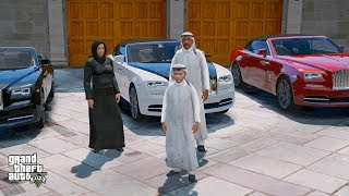 GTA 5 REAL LIFE PRINCE OF DUBAI MOD #1- MEET THE FAMILY!