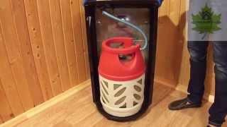 Композитный безопасный газовый баллон Ragasco LPG 18 2