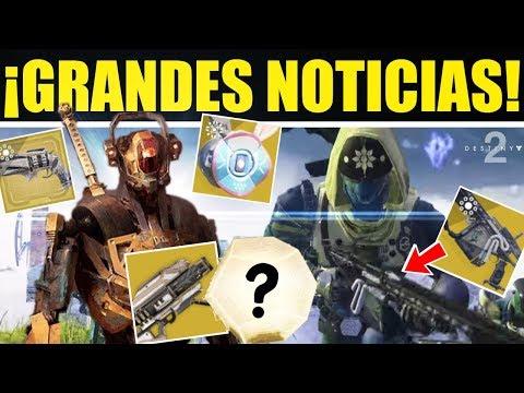 Destiny 2: EXÓTICO GRATIS! Noticias Temporada 7! Torre Antigua! Cámara Misteriosa! Evento La Velada! thumbnail