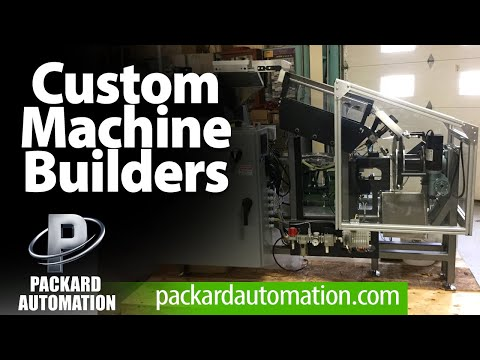 Custom Automated Machines Design-build - Packard Automation