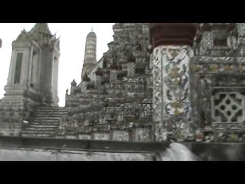 temple dawn bangkok thailand