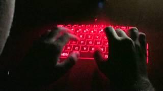 Cube Laser Virtual Keyboard from ThinkGeek
