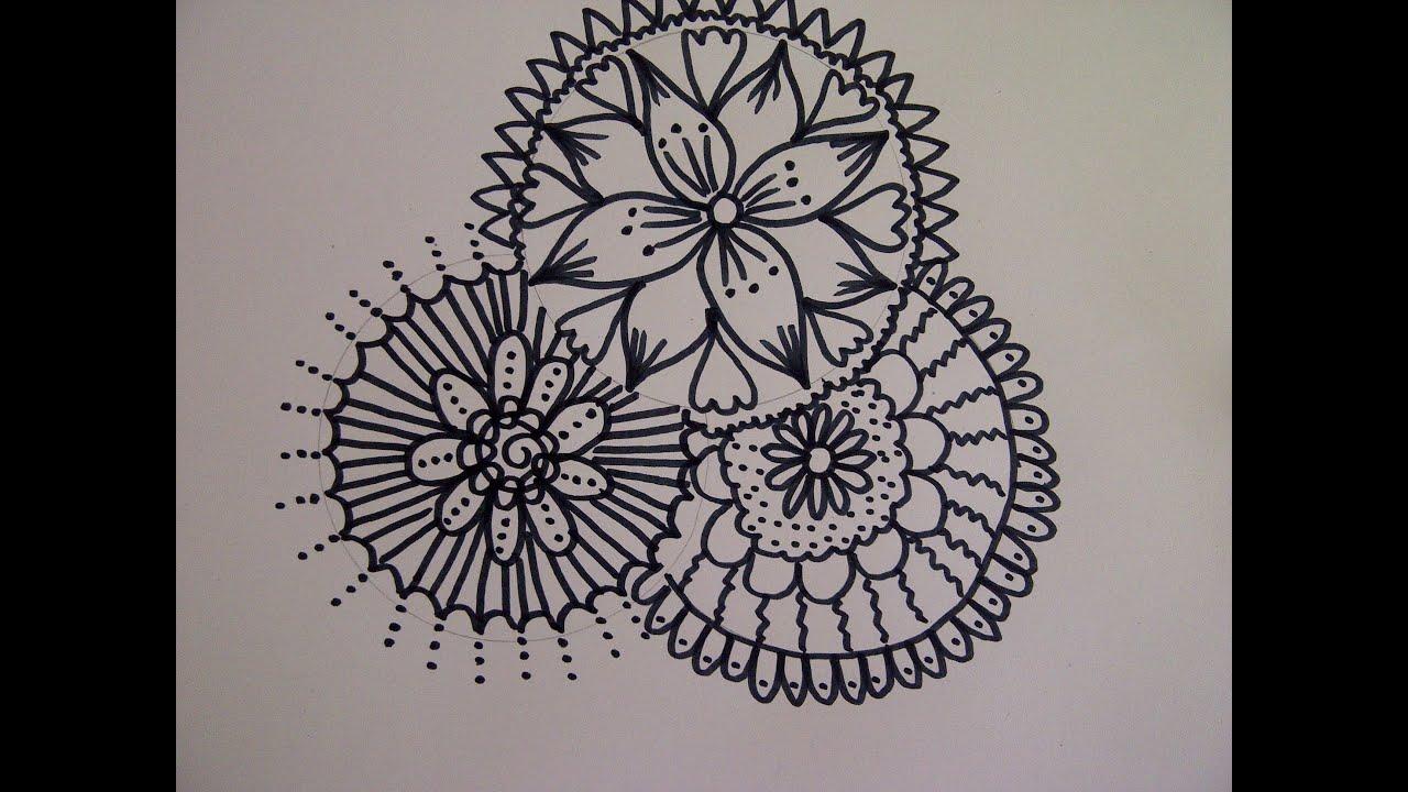 Como Dibujar FÁcil MÉtodo Para Principiantes Y Como: Como Crear Un Mandala. Cómo Dibujar Un Mandala. Como Hacer