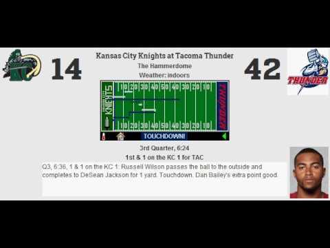 Week 1: Kansas City Knights (0-0) @ Tacoma Thunder (0-0)