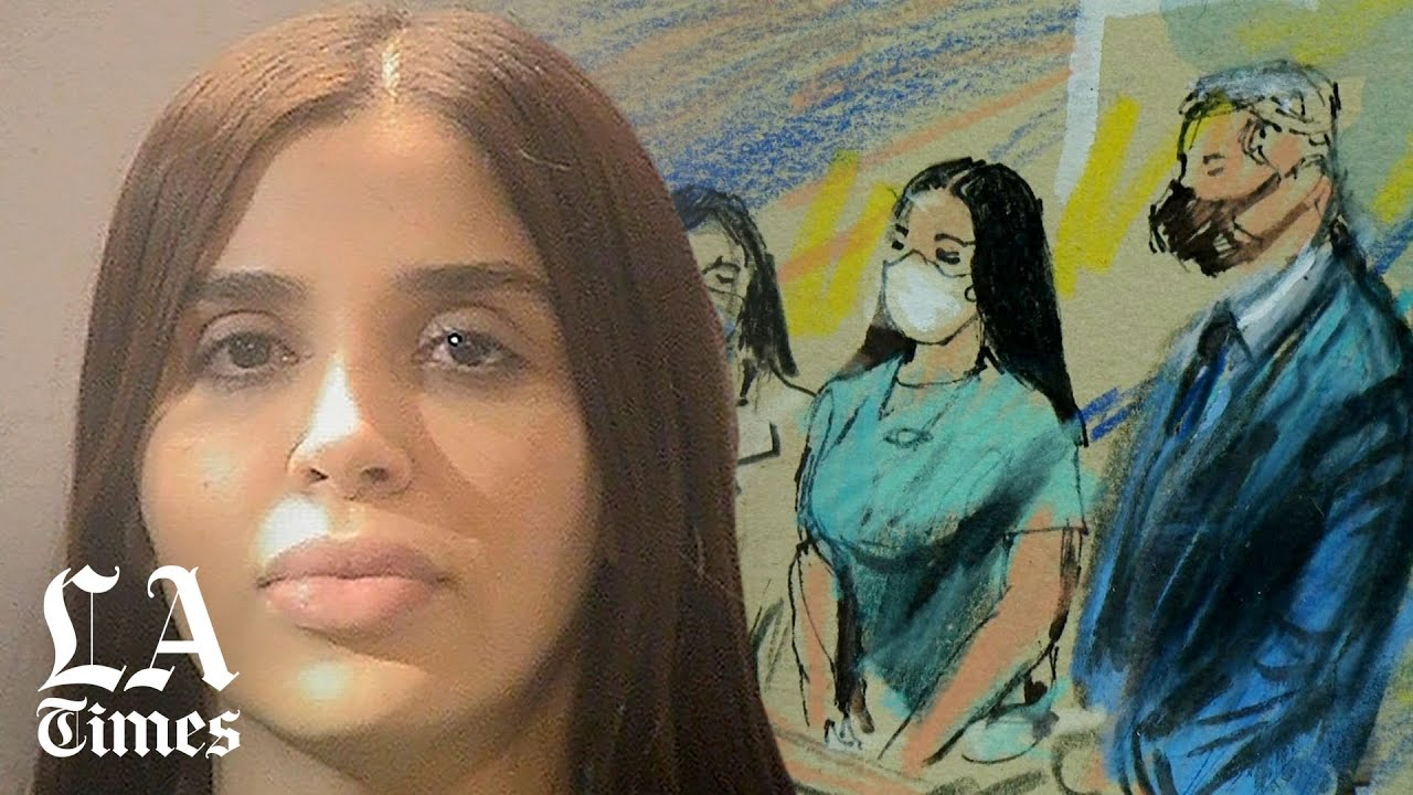 """Emma Coronel, wife of Joaquin """"El Chapo"""" Guzman, pleads guilty to U.S. narcotics, conspiracy charges"""