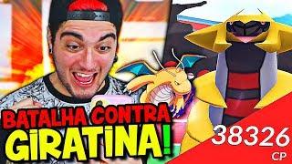 POKÉMON GO 2 #3 - BATALHA CONTRA RAID DE GIRATINA ! CONSEGUI VENCER ?!