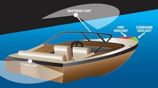 Инструкция по установке ходовых огней на лодку