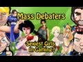 Mass Debaters - Sexiest Girls in Gaming