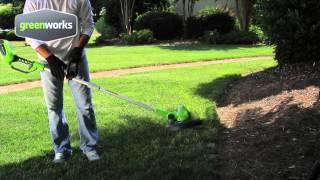 Greenworks 40v trimmer edger hd