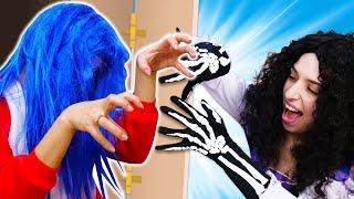 Весёлые игры страшилки - Принцесса Диснея - ПРИВИДЕНИЕ! - Видео приколы и Игры одевалки для девочек