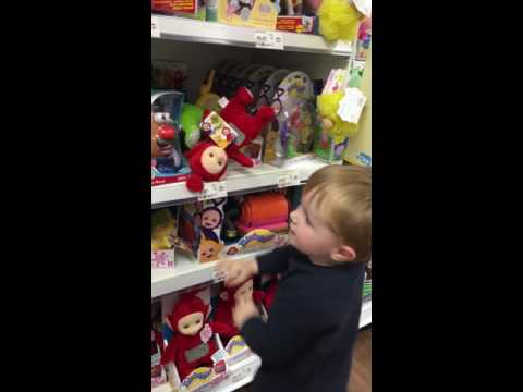 *** Parker Looking At All The Toys In Asda. Paw Patrol / Toy Story / Teletubbies  / Ben And Holly