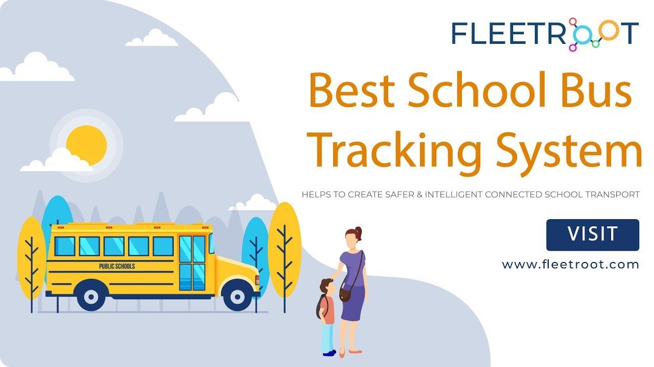 1 School Bus GPS Tracking System In UAE