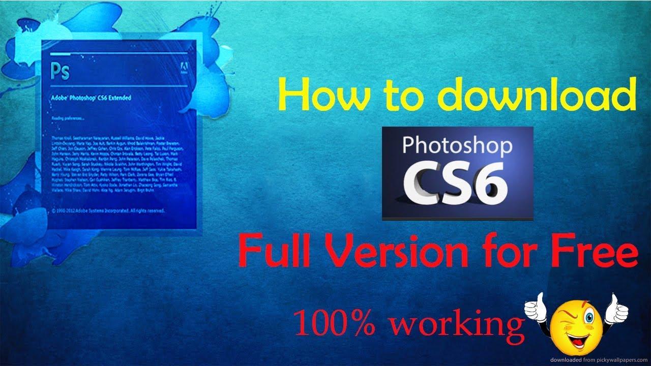 adobe photoshop cs6 free download full version zip file