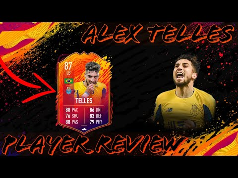 TELLES HEADLINER PLAYER REVIEW  My Favourite LB In The Game!!  FIFA20 ULTIMATE TEAM 