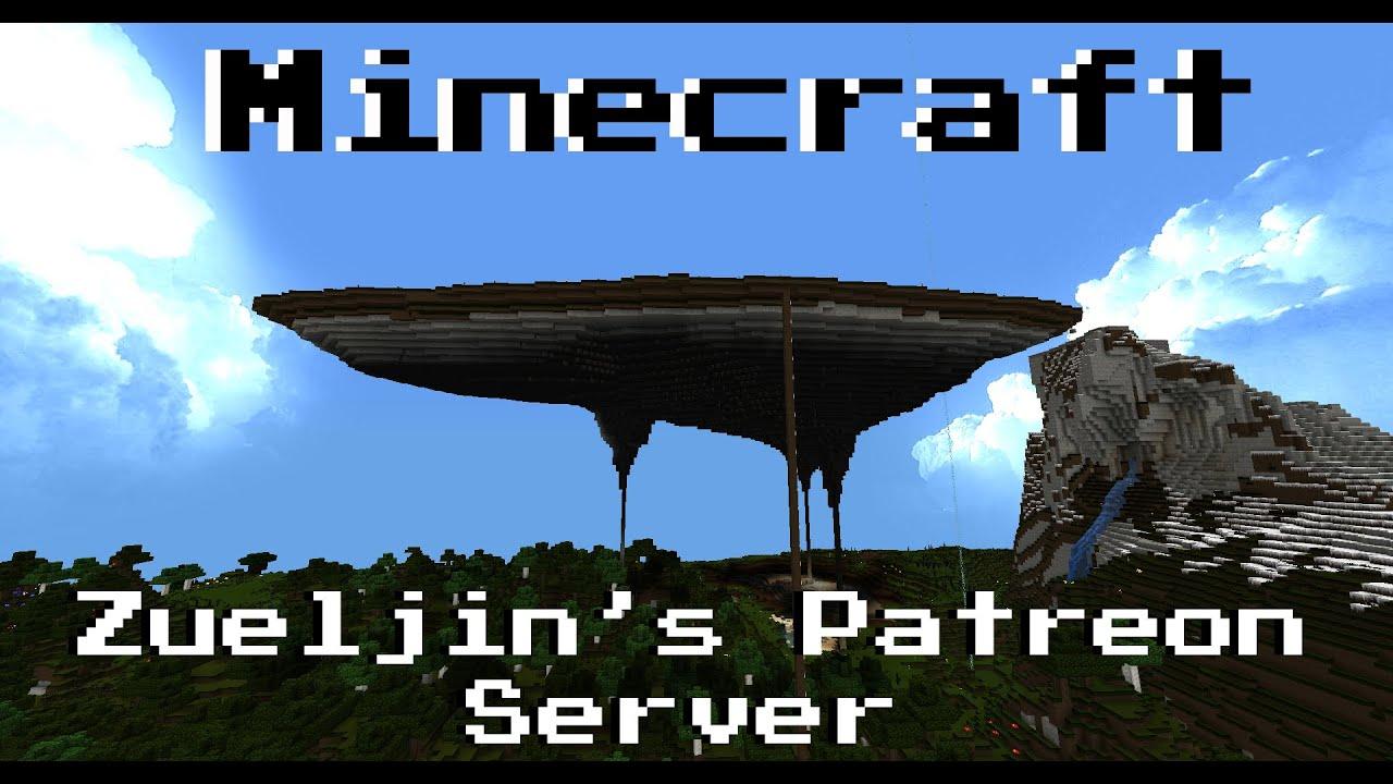 minecraft vanilla zueljin s patreon server sky island
