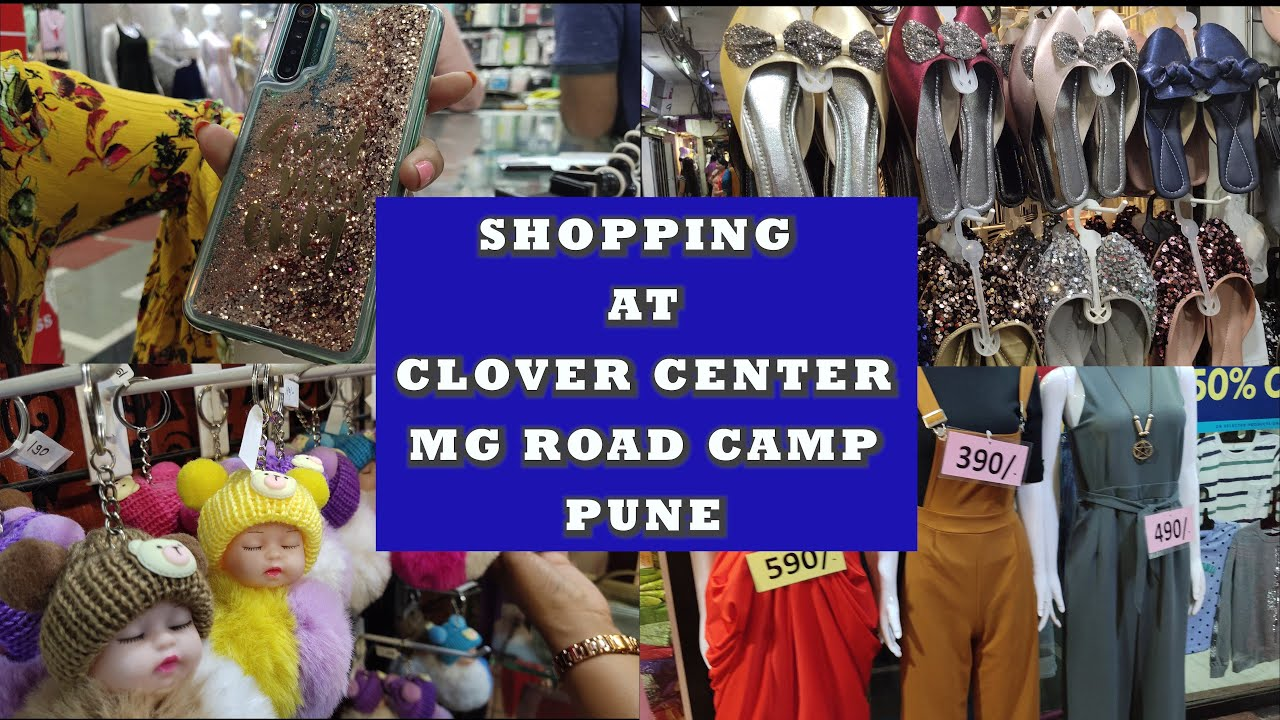 Shopping At Clover Center Mg Road Camp Pune Dipika Mohit Youtube