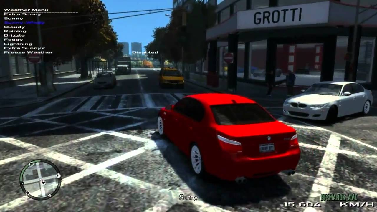 GTA IV - GTX 460 GLH - Visual IV 1 7 1 + Ultimate Textures 2 0
