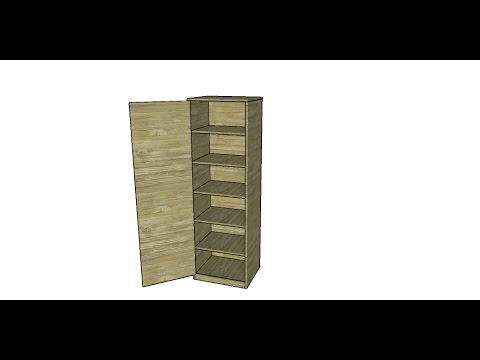 How to Build a Basic Wall Cabinet - thesprucecrafts.com