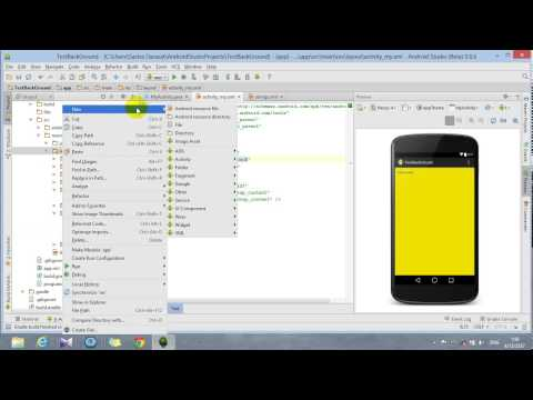 วิธีใส่สีและภาพพื้นหลังหน้าจอ บน Android