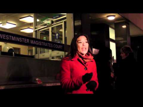 Red Hot Chick Reporter reports at Westminster Magistrates Court Julian Assange Case