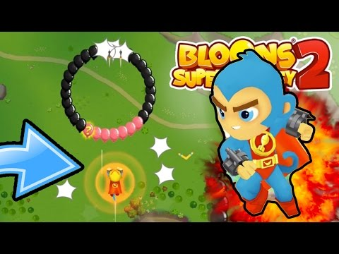 NEW BLOONS TOWER DEFENSE BATTLES GAME...!!! - Bloons Supermonkey 2 Gameplay Part 1
