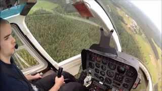 Autorotation Practice Bell 206 Jet Ranger