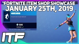 Fortnite Item Shop *NEW* VOLLEY GIRL SKIN + WHIRLWIND EMOTE! [January 25th, 2019]
