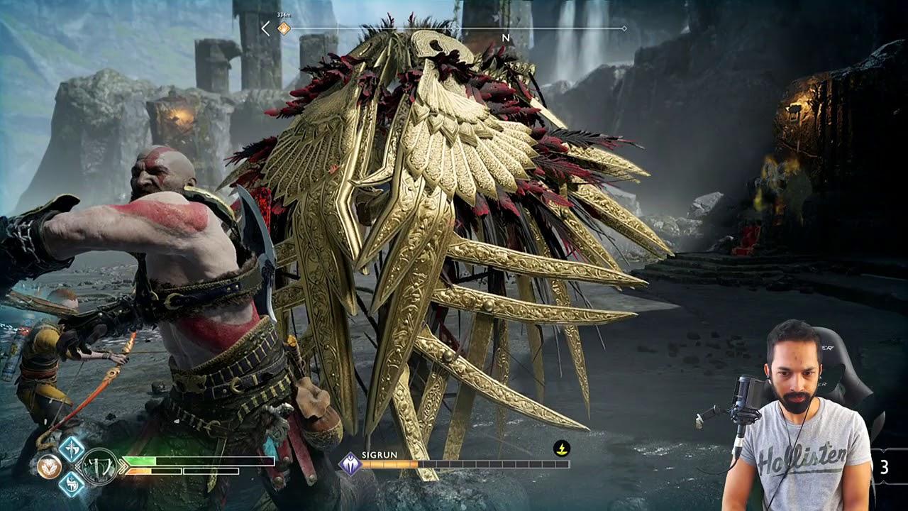 God Of War Valkyrie Queen